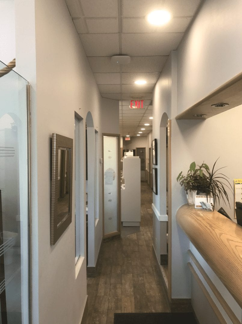 Image of Exquisite Electric Upgraded Led Lights in Canyon Creek Dental Reception Area