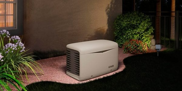 image of a kohler standby whole home generator