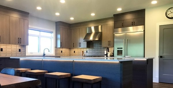 image of exquisite electric residential home kitchen lighting