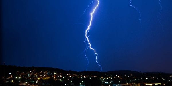 image of Electrical Surge causing Lightning that Exquisite Electric Protects The Whole Home from